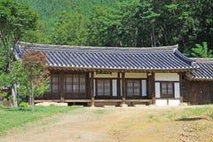 Παγκόσμια κληρονομιά της ΟΥΝΕΣΚΟ της Κορέας - χωριό Gyeongju Yangdong Στοκ εικόνες με δικαίωμα ελεύθερης χρήσης