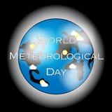Παγκόσμια μετεωρολογική ημέρα Στοκ Εικόνες