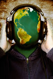 Παγκόσμια μουσική Στοκ Εικόνα