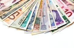 Παγκόσμια νομίσματα Στοκ Εικόνα