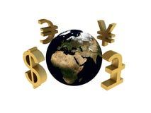 Παγκόσμια οικονομία Στοκ φωτογραφία με δικαίωμα ελεύθερης χρήσης