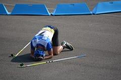 Παγκόσμια πρωταθλήματα θερινού Biathlon IBU, Cheile Gradistei, 2015 Στοκ Φωτογραφίες