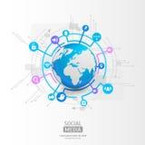 Παγκόσμια σφαίρα με το εικονίδιο app επίσης corel σύρετε το διάνυσμα απεικόνισης Στοκ φωτογραφίες με δικαίωμα ελεύθερης χρήσης