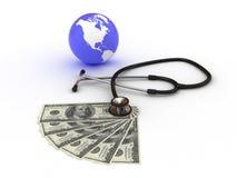 Παγκόσμια χρήματα Στοκ Φωτογραφίες