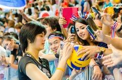 Παγκόσμια Grand Prix 2014 πετοσφαίρισης Στοκ εικόνα με δικαίωμα ελεύθερης χρήσης