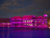 Παγκόσμια ` s μεγαλύτερη πολύχρωμη πηγή Στοκ εικόνα με δικαίωμα ελεύθερης χρήσης