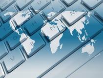 Παγκόσμιες επικοινωνίες ελεύθερη απεικόνιση δικαιώματος