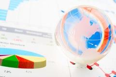 Παγκόσμιοι πόροι χρηματοδότησης στοκ φωτογραφίες