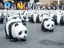 Παγκόσμιος γύρος 1.600 pandas στη Μπανγκόκ Στοκ εικόνες με δικαίωμα ελεύθερης χρήσης