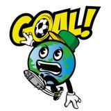 Παγκόσμιος ποδοσφαιριστής Στοκ Εικόνα