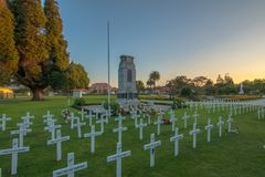 Παγκόσμιος πόλεμος ένα μνημείο στοκ εικόνα με δικαίωμα ελεύθερης χρήσης