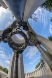 Παγκόσμιος πόλεμος δύο μνημείο Washington DC, ΗΠΑ λεπτομέρεια Στοκ φωτογραφία με δικαίωμα ελεύθερης χρήσης