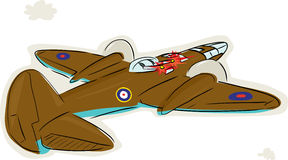Παγκόσμιος πόλεμος 2 να επιτεθεί βομβαρδιστικών αεροπλάνων Στοκ φωτογραφία με δικαίωμα ελεύθερης χρήσης