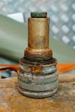 Παγκόσμιος πόλεμος 2 θρυαλλίδα DÃ ¼ sseldorf Γερμανία βομβών Στοκ φωτογραφία με δικαίωμα ελεύθερης χρήσης