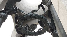 Παγκόσμιος πόλεμος 2 μνημείο Στοκ Εικόνα