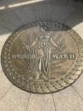 Παγκόσμιος πόλεμος 2 μνημείο Στοκ φωτογραφία με δικαίωμα ελεύθερης χρήσης