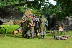 Παγκόσμιος πόλεμος δύο σκηνή Στοκ εικόνες με δικαίωμα ελεύθερης χρήσης