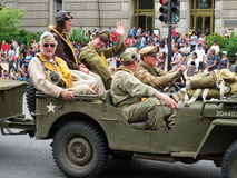 Παγκόσμιος πόλεμος δύο στρατιωτικός στοκ εικόνα με δικαίωμα ελεύθερης χρήσης