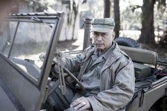 Παγκόσμιος πόλεμος δύο στρατιώτης στοκ εικόνες