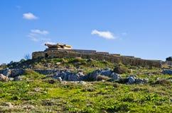 Παγκόσμιος πόλεμος 2 pillbox στη Μάλτα Στοκ Φωτογραφία