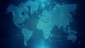 Παγκόσμιος χάρτης υποβάθρου διανυσματική απεικόνιση