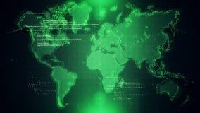 Παγκόσμιος χάρτης υποβάθρου απεικόνιση αποθεμάτων