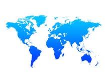 Παγκόσμιος χάρτης Στοκ φωτογραφίες με δικαίωμα ελεύθερης χρήσης