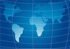 Παγκόσμιος χάρτης στοκ εικόνα