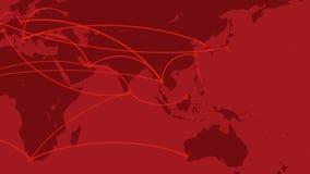 Παγκόσμιο δίκτυο, ταξίδι, επικοινωνίες ελεύθερη απεικόνιση δικαιώματος