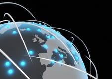 παγκόσμιο δίκτυο Στοκ εικόνα με δικαίωμα ελεύθερης χρήσης