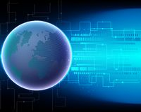 Παγκόσμιο δίκτυο γ μετασχηματισμού συστημάτων Διαδικτύου παγκόσμιων χαρτών cyber ελεύθερη απεικόνιση δικαιώματος