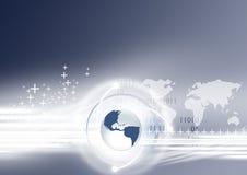 παγκόσμιο δίκτυο Στοκ Εικόνα