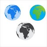 Παγκόσμιο εικονίδιο Στοκ Εικόνες