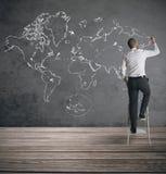 Παγκόσμιο επιχειρηματικό πεδίο Στοκ εικόνα με δικαίωμα ελεύθερης χρήσης