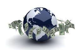 Παγκόσμιο επιχειρηματικό πεδίο Στοκ Εικόνα