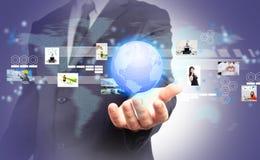 Παγκόσμιο επιχειρηματικό πεδίο Στοκ Εικόνες