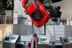Παγκόσμιο εστιατόριο Ferrari Στοκ εικόνες με δικαίωμα ελεύθερης χρήσης