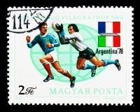 Παγκόσμιο Κύπελλο ποδοσφαίρου, Αργεντινή 1978, serie, circa 1978 Στοκ Εικόνα