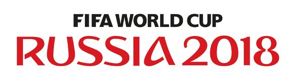 Παγκόσμιο Κύπελλο 2018 της Ρωσίας διανυσματική απεικόνιση