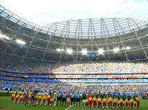 Παγκόσμιο Κύπελλο 2018 στοκ εικόνες με δικαίωμα ελεύθερης χρήσης