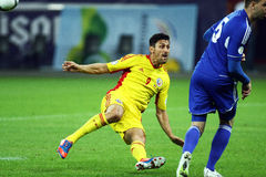 Παγκόσμιο Κύπελλο 2014 προκαταρκτικά: Ρουμανία-Ανδόρρα Στοκ εικόνες με δικαίωμα ελεύθερης χρήσης