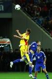 Παγκόσμιο Κύπελλο 2014 προκαταρκτικά: Ρουμανία-Ανδόρρα Στοκ Εικόνες
