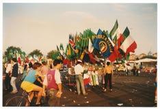 Παγκόσμιο Κύπελλο Ιταλία 1990 Στοκ φωτογραφίες με δικαίωμα ελεύθερης χρήσης