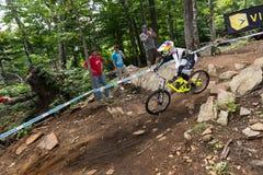 Παγκόσμιο Κύπελλο προς τα κάτω το 2013, Mont ste-Anne, Beaupr UCI στοκ φωτογραφίες
