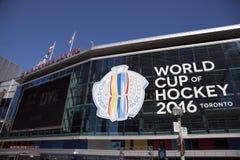 Παγκόσμιο Κύπελλο του χόκεϋ 2016 Τορόντο στοκ εικόνα με δικαίωμα ελεύθερης χρήσης