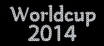 Παγκόσμιο Κύπελλο 2014 Στοκ Φωτογραφία