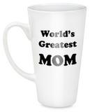 Παγκόσμιο μέγιστο Mom στην κούπα Στοκ Εικόνες