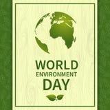 Παγκόσμιο περιβάλλον ημέρα-03 απεικόνιση αποθεμάτων