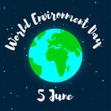 Παγκόσμιο περιβάλλον ημέρα-1-01 Στοκ Φωτογραφία