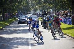 Παγκόσμιο πρωτάθλημα οδικών UCI φυλών για τα άτομα ελίτ επάνω Στοκ φωτογραφία με δικαίωμα ελεύθερης χρήσης